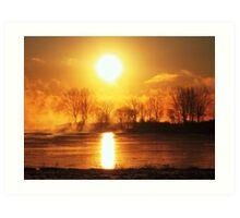 sunrising...serie XIII !... Art Print