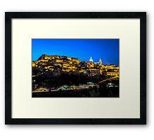 Ragusa Ibla in the Evening Framed Print