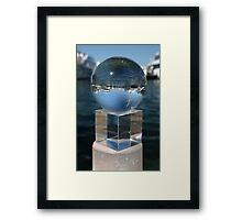 Cylinder, Cube, Sphere Framed Print