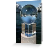 Cylinder, Cube, Sphere Greeting Card