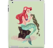 Mermaid skills iPad Case/Skin