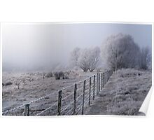 Winter in Mackenzie Country Poster