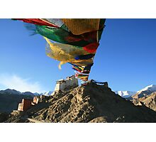 Prayers on top of the World Photographic Print