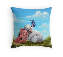 Sow In Love With Ewe Throw Pillow
