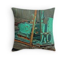The Canal Locks Throw Pillow