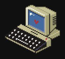 8 BIT Computer - Love Heart Kids Clothes