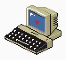 8 BIT Computer - Love Heart Kids Clothes