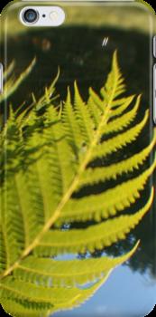 The Future is a Bright Green Tree Fern by Bryan Freeman