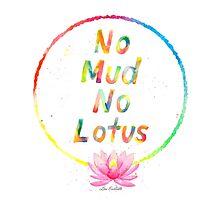 No Mud No Lotus Photographic Print