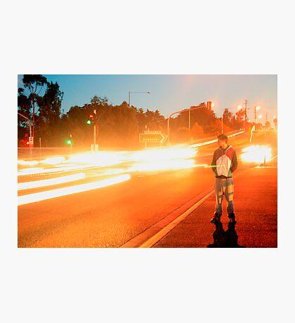 Human Traffic Photographic Print