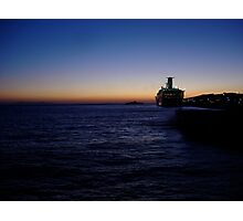 The Sunset of Mykonos Photographic Print