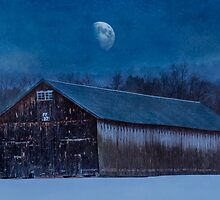 Tobaco Barn in Winter by browncardinal8