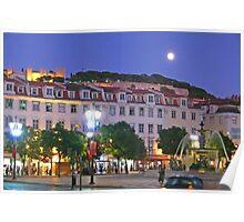 Lisbon....Rossio Square Poster