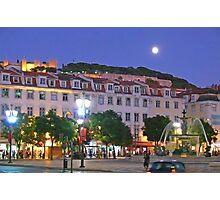 Lisbon....Rossio Square Photographic Print