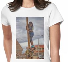 Cuenca Kids 637 Womens Fitted T-Shirt