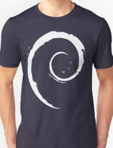 Debian White T-Shirt