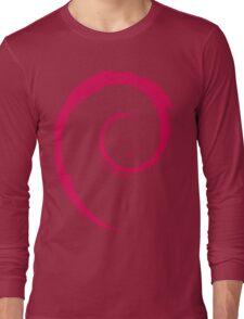 Debian Red Long Sleeve T-Shirt