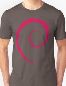 Debian Red Unisex T-Shirt