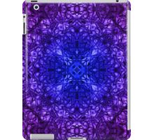"""""""Spirit of India: Fleur-Web"""" in deep blue and violet iPad Case/Skin"""