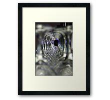 Glazed Tunnel Too Framed Print