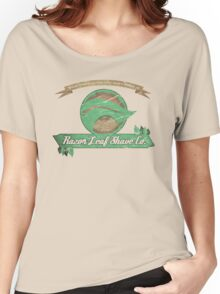 Pokemon -  Razor Leaf Shave Company (Distressed) Women's Relaxed Fit T-Shirt