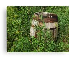 Relics of Farming Past , No. 2 Canvas Print