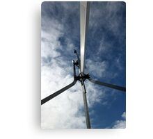 Flagpole Sitter Canvas Print