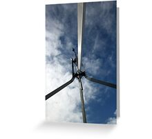 Flagpole Sitter Greeting Card