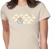 Owl Roost Womens Fitted T-Shirt