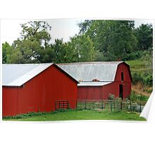 *RED COUNTRY BARNS* Poster