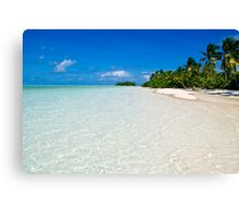 Scene of Serenity - Cocos (Keeling) Islands Canvas Print
