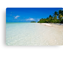 Scene of Serenity - Cocos (Keeling) Islands Canvas Print