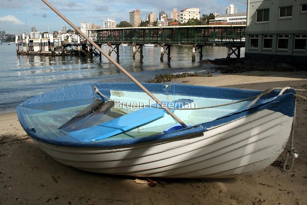 The Sunken Boat by Bryan Freeman