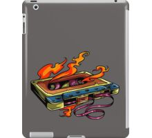 Retro Music. Old Skool music cassette tape. iPad Case/Skin