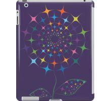 Shining abstract dandelion iPad Case/Skin