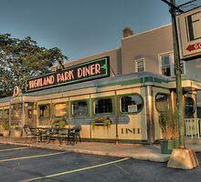 Highland Park Diner by MShelsby