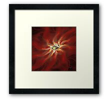 'Crimson' Framed Print