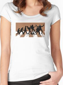 Immortal history of rock n roll ! Women's Fitted Scoop T-Shirt