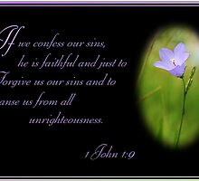 1 John 1:9 by Julie's Camera Creations <><