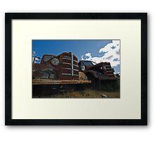 Bedford trucks Framed Print