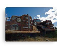 Bedford trucks Canvas Print