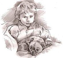 Jackson and Minnie by Alleycatsgarden