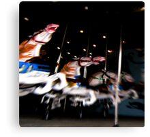 Carousel Progression Dream Canvas Print