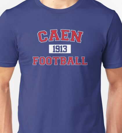 Caen Football Athletic College Style 1 Color Unisex T-Shirt