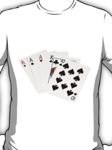 Poker Hands - Three Of A Kind - Ace T-Shirt