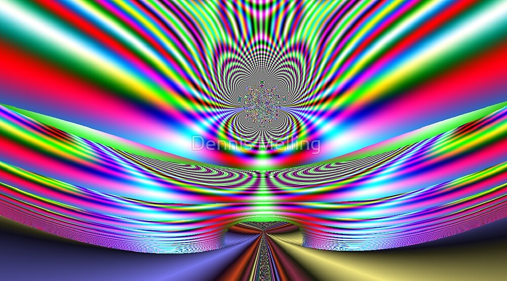 Beautiful Fractal No8 by Dennis Melling