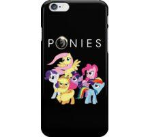 Ponies iPhone Case/Skin