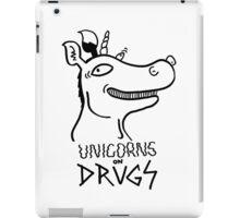 Unicorns on drugs iPad Case/Skin