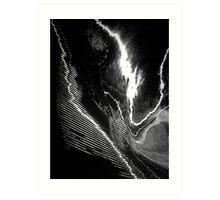 Lightning Strikes Twice Art Print