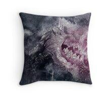Dracula's Bite Throw Pillow